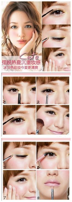 Asian cute makeup