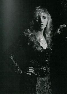 Stevie Nicks photographed by George Hurrell 1982