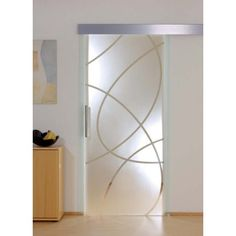 Posuvné skleněné dveře PD317-N Frosted Glass Design, Sliding Doors, French Doors, Mirror, Furniture, Home Decor, Craft Foam, New Houses, Doors