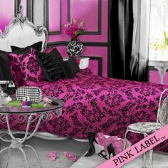 97 Best Paint it Black...and Pink! images in 2019 | Bedroom decor ...