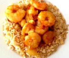 Honey mango shrimp - quick, easy, gluten free, healthy recipe you're going to love! mesadevida.com