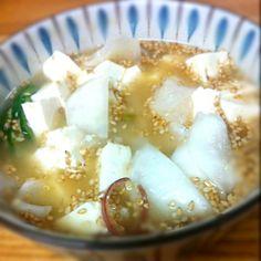 あさこ食堂のレシピを参考に冷や汁作りました。んまー(^^) - 1件のもぐもぐ - 冷や汁 by kuruyuzu
