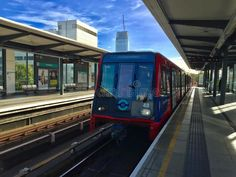 Photo about London Overground DLR. Image of blue, overground, london - 78054522 London Photography, Editorial Photography, London Overground, Blue Train, Light Rail, London Blue, Artworks, Abstract, Illustration