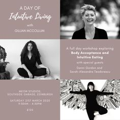 Intuitive Living Workshop, Edinburgh March 2020 — Gillian McCollum, Danni Gordon, Sarah Alexandra Teodorescu