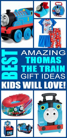 Thomas The Train gift ideas! Find fun thomas the train gifts for boys and girls. This is the ultimate thomas the train gift guide that kids, teens, tweens, friends and adults will love. You can always DIY your gifts but shopping for thomas the train products is so cool. Get awesome birthday gifts or Christmas gifts for the thomas the train lover in your life.