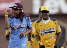 Mo'ne Davis asked school to reinstate baseball player dismissed from team for ... Mo Ne Davis  #MoNeDavis