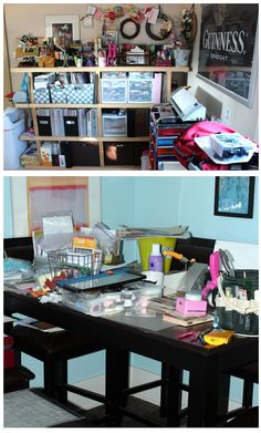 Excellent ideas in this blog post. AUTHENTIQUE PAPER: Show Me Your Craft Space!