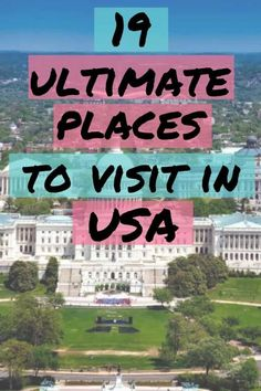 You will never run out of places to travel in the US. Here is our list of the best places to travel in the USA including the best vacation spots in the US. Best Vacation Spots, Best Places To Travel, Best Vacations, Cool Places To Visit, Places To Go, Luxury Travel, Travel Usa, Travel Tips, Visit Orlando