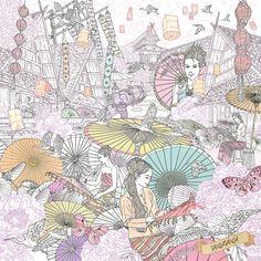 Sport Illustration Art Design Behance Ideas For 2019 Illustration Art Drawing, Drawing Artist, Art Drawings, Artist Painting, Art Thai, Thai Pattern, Thai Design, Colouring Pages, Illustrations Posters