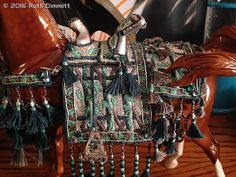 Arabian costume by Cary Nelson - model horse tack