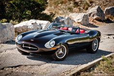 The Eagle Speedster channels the classic Jaguar E-Type. Lamborghini, Ferrari, Maserati, Porsche, Type E, Celebrity Cars, Good Looking Cars, British Sports Cars, Jaguar E Type