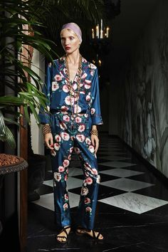 For Restless Sleepers: Daytime Pajamas by Francesca Ruffini | Vogue Paris
