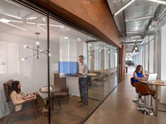 Industrial office space design first office space for entertainment features a rustic and industrial aesthetic 2 . Industrial Office Space, Office Space Design, Office Spaces, Entertainment Center Redo, Tv Decor, Home Decor, Diy Fireplace, Office Interiors, Interior Office
