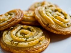 Cream Cheese and Chive Pastry Pinwheels Recipe on Yummly