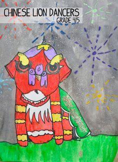 artisan des arts: Chinese Lion Dancers - grade 4/5