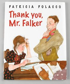 One of my favorite books & author as a kid!  Take a look at this Thank You, Mr. Falker Hardcover by Penguin Group (USA) on #zulily today!