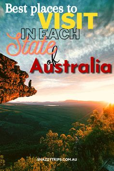 State by state guide of places to see around Australia on your bucket list adventure. #australiabucketlist #australiatravel #visitaustralia #bucketlistaustralia #australiaguide #snazzytrips Perth, Brisbane, Sydney, Australia Photos, Visit Australia, Melbourne Australia, Great Barrier Reef, South Wales, Cool Places To Visit
