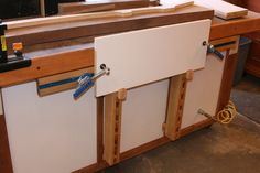 vertical clamp rack