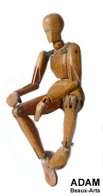 Mannequins articule en bois pour dessin et dessinateur beaux arts mannequins beaux arts manequins dessin mannequin magnetiques articulé mane...