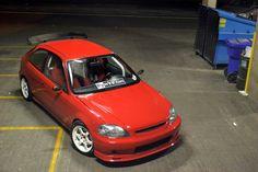 yoontim23's Honda Civic Hatch (EK) via NWP4Life.com Honda Civic Hatch, Honda Hatchback, Ek Hatch, Japanese Domestic Market, Honda Cars, Import Cars, Japan Cars, Car Tuning, Car Manufacturers