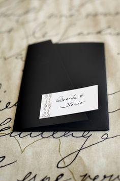 Custom Design Pocket Invitation