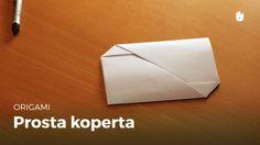 Origami: Prosta koperta