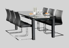 Spisebord Leba (med uttrekk)