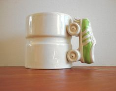 Rollerskate/wheel mug? Um, yes please?