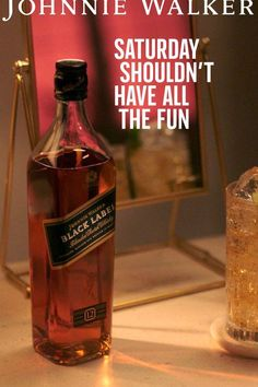 Add some celebration to your midweek with a cocktail crafted with Johnnie Walker Black Label. Whiskey Bottle, Cocktails, Ads, Celebration, Crafts, Label, Black, Craft Cocktails, Manualidades