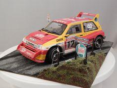 1/18 METRO 6R4 RALLY CAR & SCENE TOUR DE CORSE 1986 DIORAMA CODE 3 WRC OTTO | eBay
