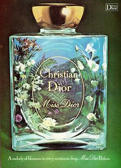 Miss Dior ad from 1977....My Favorite..My one and only...@.com