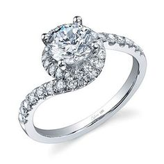 Unique Engagement Ring Settings : Engagement Rings Gallery : Brides