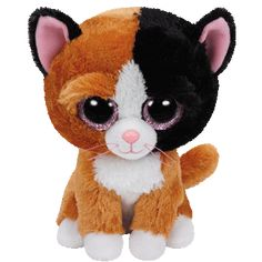 Buy Ty Beanie Boo Tauri Cat Soft Toy, from our Soft Toys range at John Lewis. Ty Beanie Boos, Beanie Babies, Ty Boos, Ty Babies, Dog Beanie, Big Eyed Stuffed Animals, Ty Peluche, Image Chat, Cute Beanies