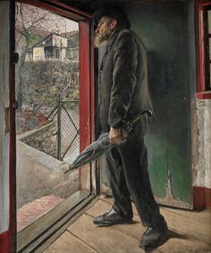 L.A. Ring - Er regnen hørt op?, 1922