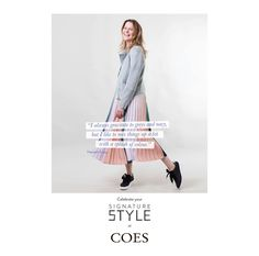 New Signature style campaign for Coes — WHAT associates Ltd Signature Style, Color Splash, Looks Great, Campaign, Coat, Model, Fashion, Sewing Coat, Moda