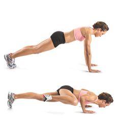 SPiderman-plank-crunch