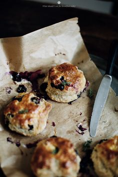 Perfectly delicious blueberry scones