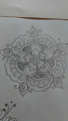 Beautiful Rangoli Designs, Kolam Designs, Hand Designs, Designs To Draw, Embroidery Motifs, Embroidery Designs, Latest Rangoli, Indian Wedding Makeup, Free Hand Rangoli Design