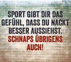 Sport gibt DIr das Gefühl...