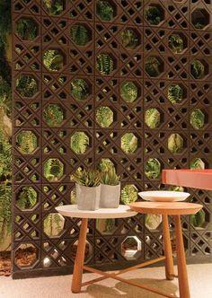 Garimpe Design de Interiores: Cobogó
