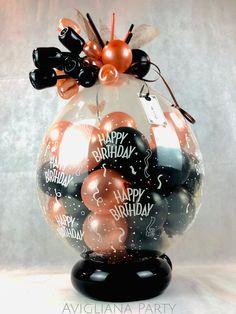 Balloon Crafts, Birthday Balloon Decorations, Balloon Gift, Birthday Balloons, Valentines Balloons, Confetti Balloons, Balloon Flowers, Balloon Bouquet, Balloon Shop