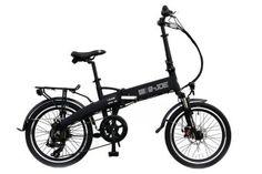 e-JOE Epik Sport Edition SE Midnight Black Folding Electric Bike