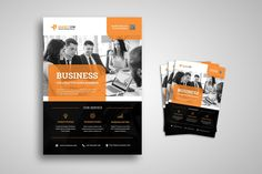10 Effective Tips Marketing Flyer Design Creative Flyers, Creative Business, Business And Economics, Finance Logo, Business Flyer Templates, Psd Templates, Service Design, Marketing, Conference