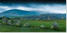 Castlerigg Stone Circle  Lake District National Park, UK