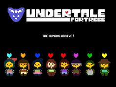 THE HUMANS ARRIVE! (UNDERTALE Fortress Humans Teaser) (The Other Colored Soul…