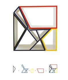Etagère modulaire par Sanjin Halilović - Blog Déco Design