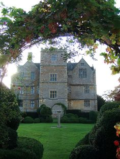 Chastleton House, Oxfordshire, built between 1607 and 1612