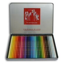 Caran D'Ache Supracolor Artist Quality Water-Soluble Colour Pencils Tin of 30