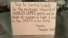 Hunger Games, Hunger Games-style
