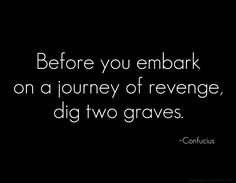 revenge is not ours